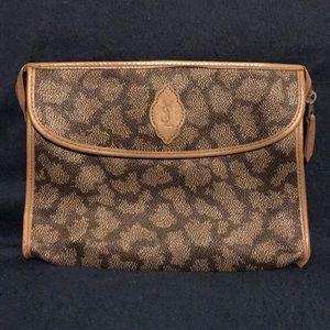 Trend Alert!! YSL abstract leopard print clutch